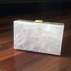 Handbags - Box of style clutch
